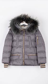 Детская куртка Elsy серого цвета, фото
