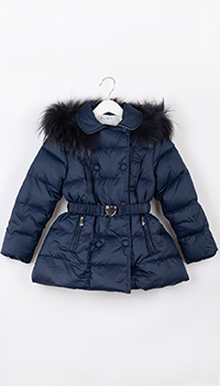 Куртка для девочки Elsy синего цвета, фото