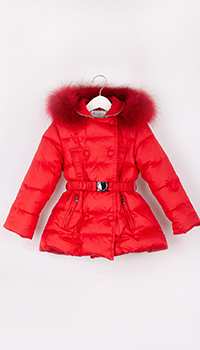 Детская красная куртка Elsy с капюшоном, фото