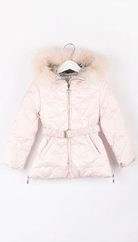 Куртка детская Elsy розового цвета, фото