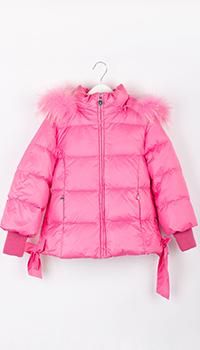 Розовая куртка Elsy для девочки, фото