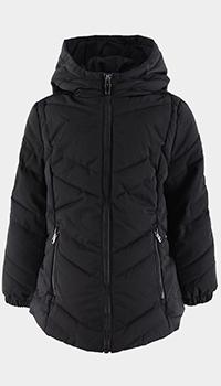 Детская куртка Ea7 Emporio Armani с геометрической стежкой, фото