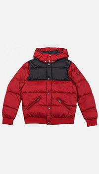 Детская куртка Emporio Armani красного цвета, фото