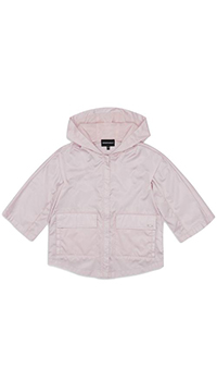 Дождевик Emporio Armani розового цвета, фото
