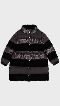 Удлиненная куртка Emporio Armani для девочек, фото