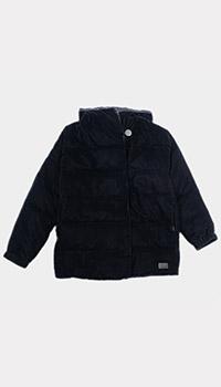 Темно-синяя куртка Emporio Armani для девочек, фото