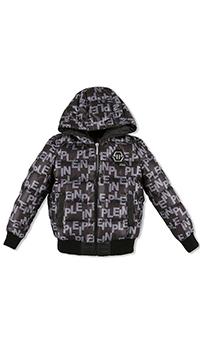Куртка Philipp Plein All over PP с принтом-лого, фото