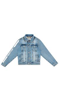 Куртка детская Philipp Plein синего цвета, фото