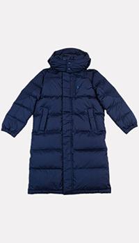 Детская куртка Polo Ralph Lauren синего цвета, фото