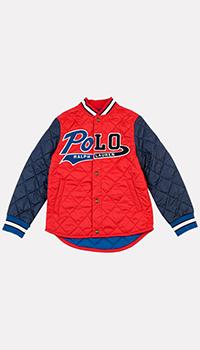 Куртка для детей Polo Ralph Lauren с геометрической стежкой, фото