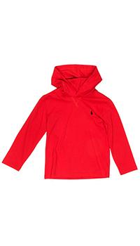Красная толстовка Polo Ralph Lauren с капюшоном, фото