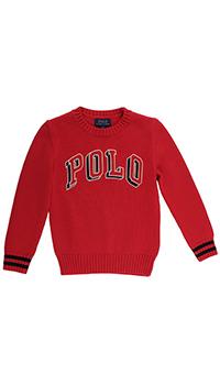 Красный джемпер Polo Ralph Lauren с лого, фото