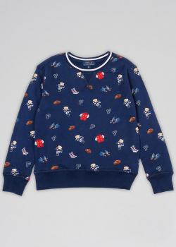 Детский свитшот Polo Ralph Lauren с принтом, фото
