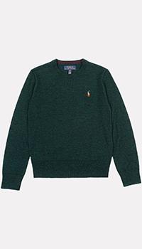 Зеленый джемпер Polo Ralph Lauren для мальчиков, фото