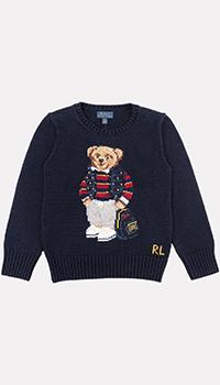 Детский джемпер Polo Ralph Lauren с изображением медведя, фото