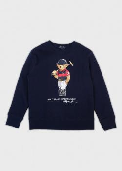 Синий свитшот Polo Ralph Lauren для детей, фото