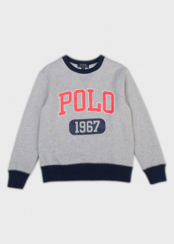 Детский свитшот Polo Ralph Lauren с логотипом, фото