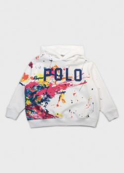 Худи с принтом Polo Ralph Lauren для детей, фото