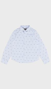 Голубая рубашка Emporio Armani для мальчиков, фото