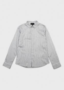 Полосатая рубашка Emporio Armani для мальчиков, фото