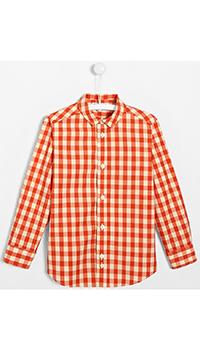 Рубашка для мальчиков Jacadi с клетчатым принтом, фото