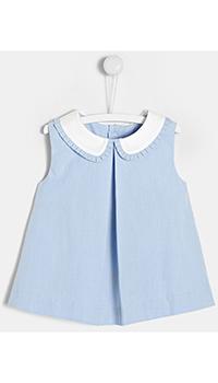 Детская блуза Jacadi в голубом цвете, фото