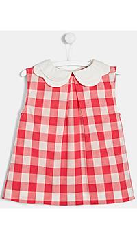 Блуза для девочек Jacadi с белым воротником, фото