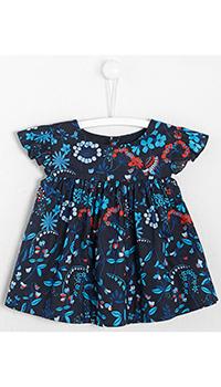 Синяя блуза Jacadi для девочек, фото