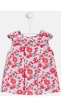 Детская блуза Jacadi с цветочным принтом, фото