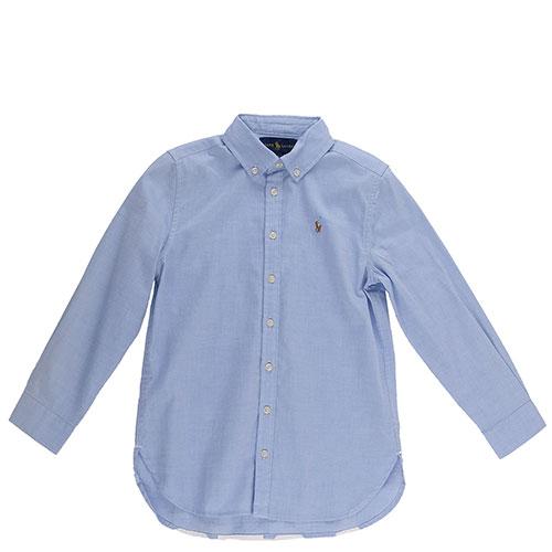 Рубашка-туника Polo Ralph Lauren с белым лого, фото