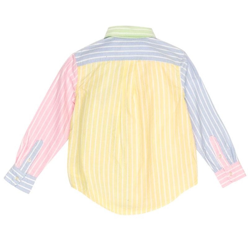 Разноцветная рубашка Polo Ralph Lauren в полоску