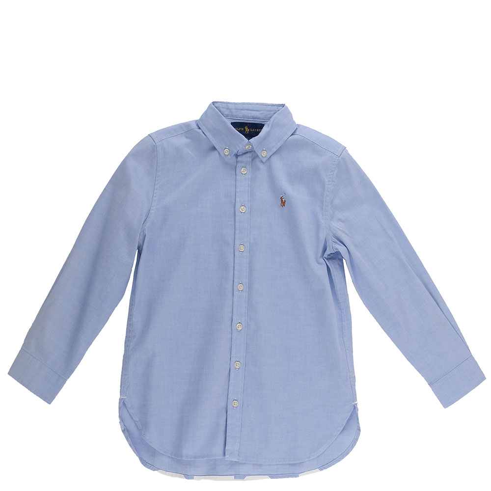 Рубашка-туника Polo Ralph Lauren с белым лого