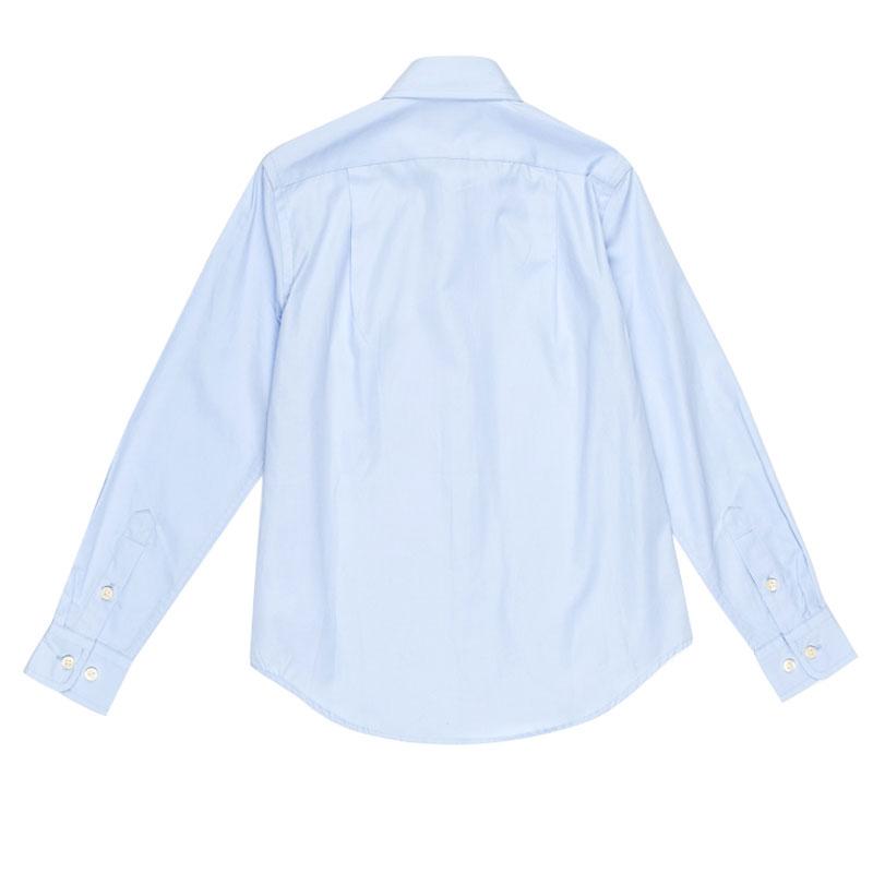 Классическая рубашка Polo Ralph Lauren голубого цвета