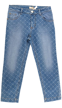 Детские джинсы Elisabetta Franchi с узором, фото
