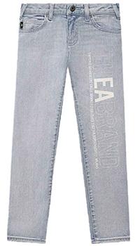 Детские джинсы Emporio Armani с логотипом, фото