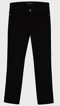 Детские джинсы Emporio Armani черного цвета, фото