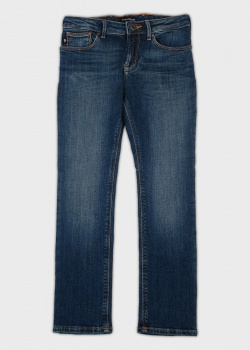Детские джинсы Emporio Armani синего цвета, фото
