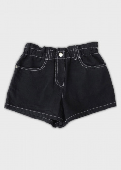 Джинсовые шорты Emporio Armani для девочек, фото