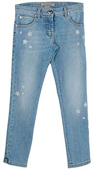 Синие джинсы Ermanno Scervino для девочки, фото