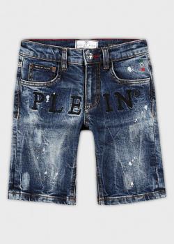 Джинсовые шорты Philipp Plein для детей, фото