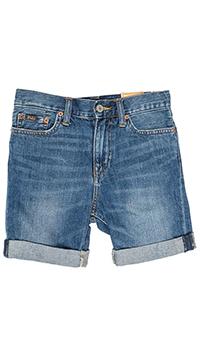 Джинсовые шорты Polo Ralph Lauren с подворотом, фото