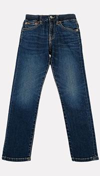 Детские джинсы Polo Ralph Lauren с эластичным поясом, фото