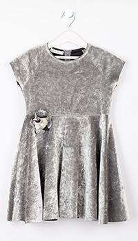 Платье детское Elsy серого цвета, фото