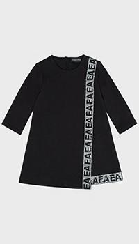Платье с пайетками Emporio Armani для девочек, фото