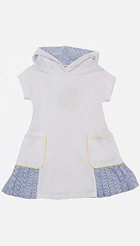 Детское платье Emporio Armani с капюшоном, фото