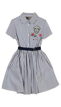 Детское платье Ermanno Scervino в полоску, фото