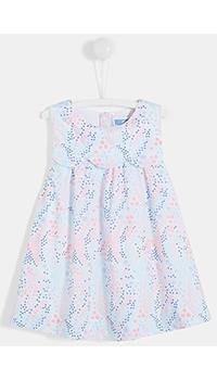 Платье для девочек Jacadi с принтом в стиле ар-деко, фото