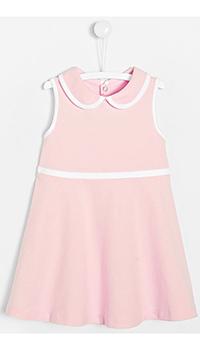 Детское платье Jacadi розового цвета без рукавов, фото