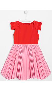 Платье для девочек Jacadi с вставками плиссе, фото