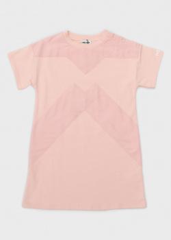 Розовое платье Kenzo для девочек, фото